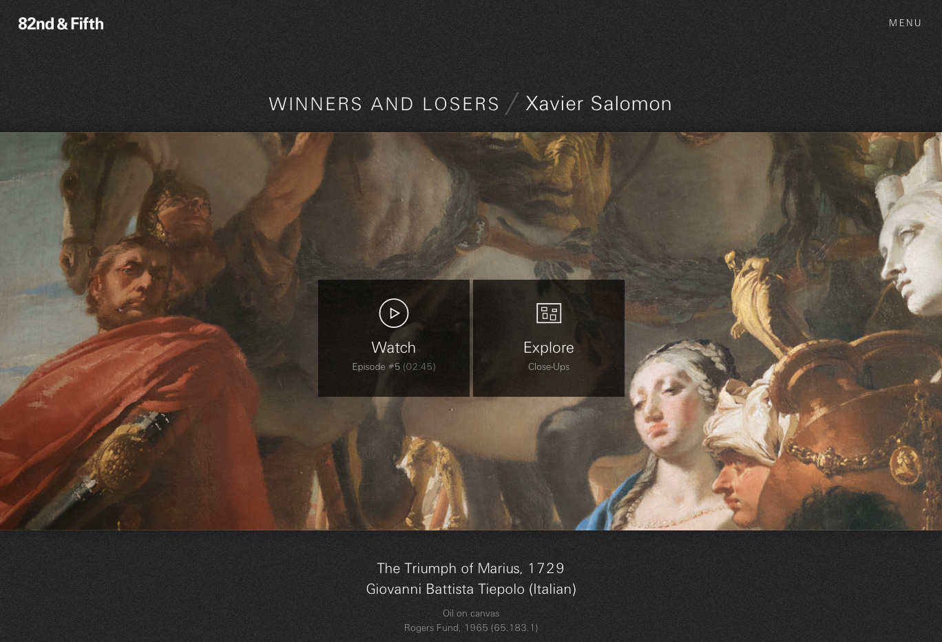 "Figure 22:  ""Winners and Losers"" by Xavier Salomon"
