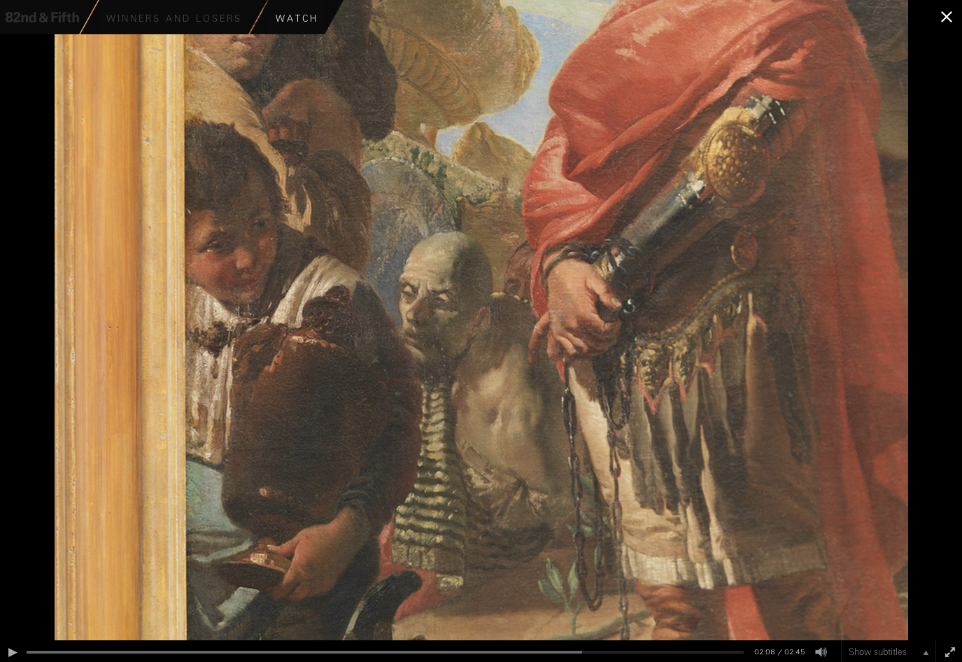 "Figure 25:  Giovanni Battista Tiepolo's ""The Triumph of Marius,"" detail, 1729"