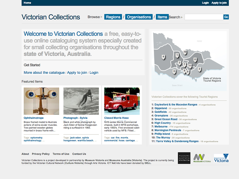 Original Victorian Collections homepage